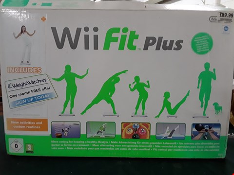 Lot 1083 BOXED NINTENDO WII FIT PLUS BOARD
