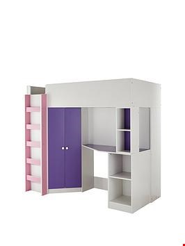 Lot 97 BOXED NEW METRO HIGH SLEEPER PINK (3 BOXES) RRP £529.00