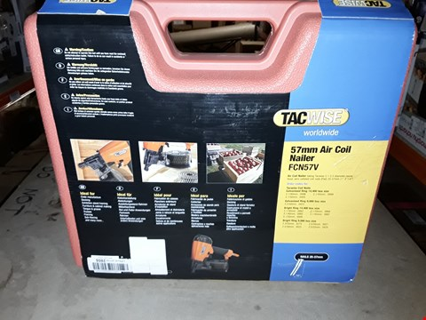 Lot 660 TACWISE FCN57V 57MM AIR COIL NAILER