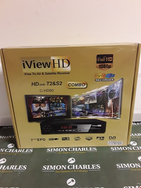 Lot 1509 IVIEW HD FREE TO AIR & SATELLITE RECEIVER