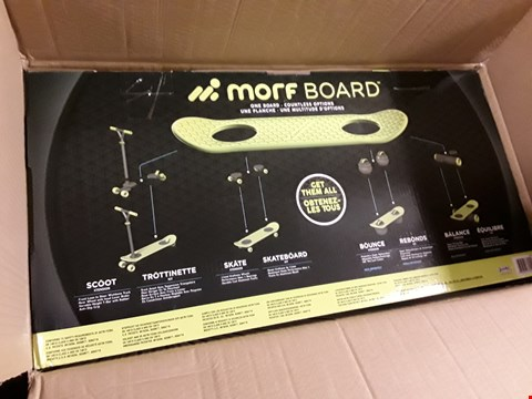 Lot 1367 MORF BOARD SCOOT & SKATE RRP £124.99