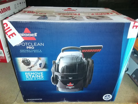 Lot 2403 BISSELL SPOT CLEAN PRO PORTABLE CARPET WASHER