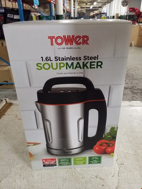 Lot 8390 TOWER 1.6L STAINLESS STEEL SOUPMAKER