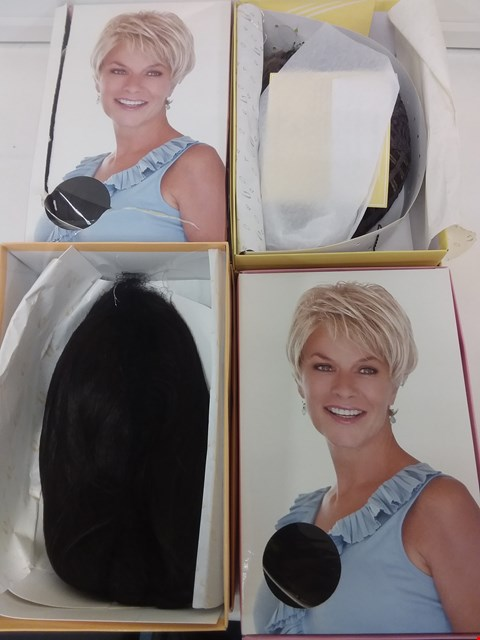 Lot 584 LOT OF 4 ASSORTED WIGS