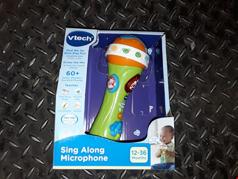Lot 6199 VTECH SING ALONG MICROPHOME