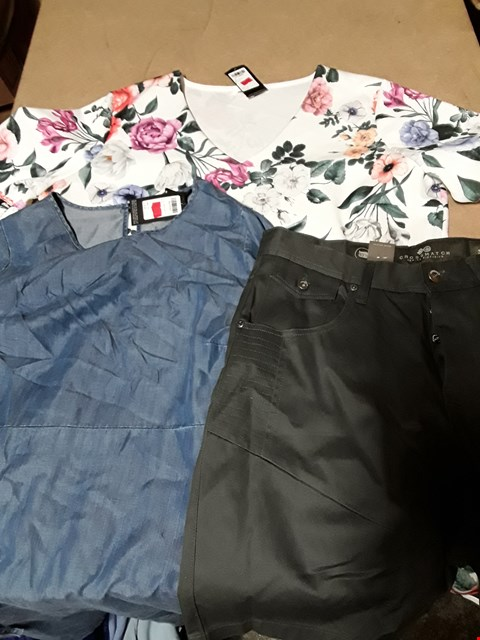 Lot 9403 4 BOXES OF APPROXIMATELY 80 ASSORTED CLOTHING ITEMS TO INCLUDE FLORAL PRINT SKATER DRESS, LYOCELL SMOCK DRESS, AMALGA MAGNET SHORTS