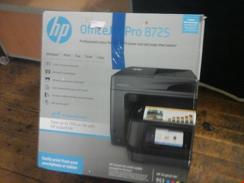 Lot 1042 BOXED HP OFFICEJET PRO 8725 PRINTER