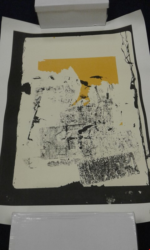 Lot 8207 2 ASSORTED MIKE BALLARD PRINTS TO INCLUDE; LOCAL AUTHORITY NUMBERED 32/36 AND UNTITLED PRIND MARKED ADV