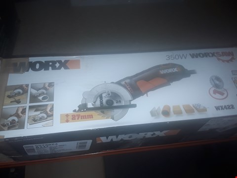 Lot 9542 WORX WX422 WORXSAW 85MM 350W COMPACT CIRCULAR SAW