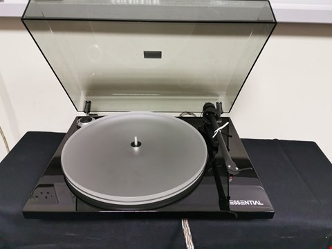 Lot 13 PRO-JECT ESSENTIAL III TURNTABLE WITH ACRYLIC PLATTER RRP £349.00