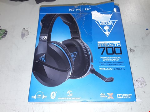 Lot 10902 TURTLE BEACH STEALTH 700 PS4