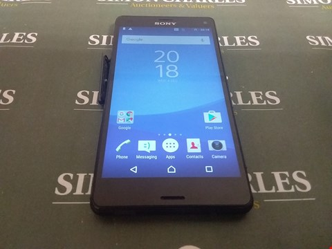 Lot 4808 SONY XPERIA Z3 COMPACT 16GB ANDROID SMARTPHONE
