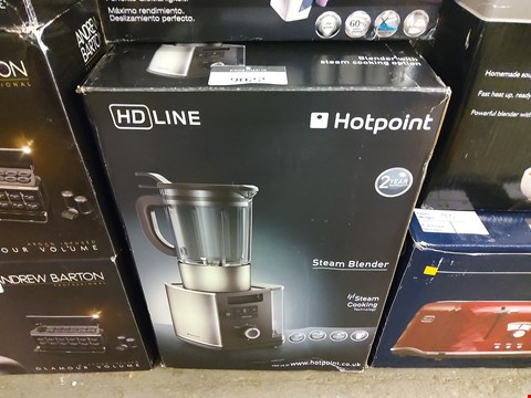 Lot 9022 BOXED HOTPOINT HD LINE STEAM BLENDER