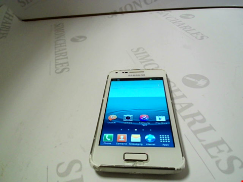 Lot 125 SAMSUNG GALAXY GT-I9070 ANDROID SMARTPHONE