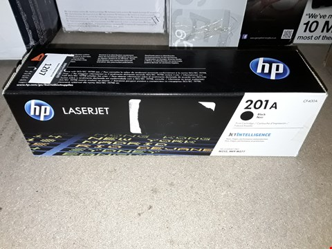 Lot 1207 HP 201A BLACK ORIGINAL LASERJET TONER CARTRIDGE (CF400A)