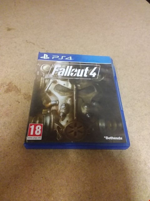 Lot 8228 FALLOUT 4 PS4 GAME