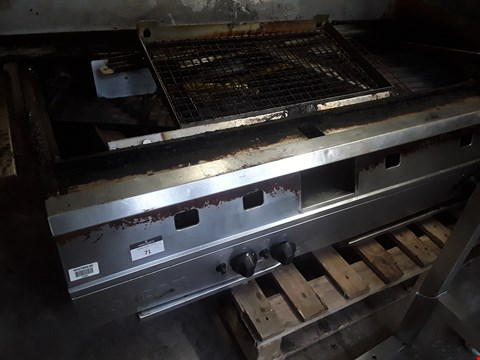 Lot 71 FALCON FIVE BURNER GAS FIRED GRILL