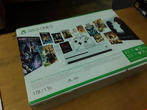 Lot 22 BOXED XBOX ONE S CONSOLE 1TB RRP £509