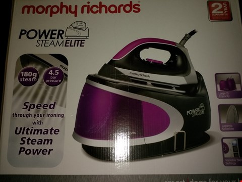 Lot 2028 MORPHY RICHARDS POWER STEAM ELITE STEAM GENERATING IRON