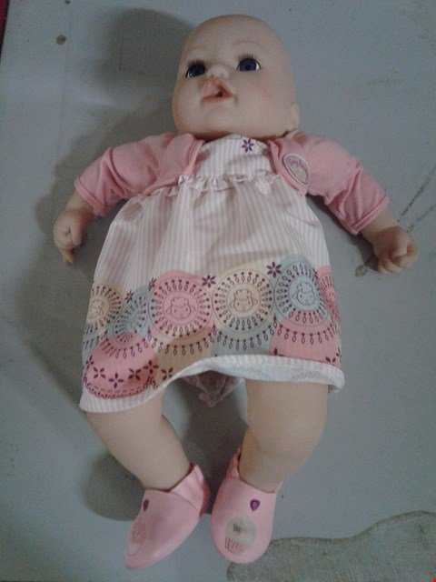 Lot 321 BABY ANNABELL MY SPECIAL DAY ONE DOLL RRP £77