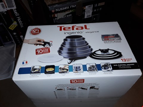 Lot 1082 TEFAL INGENIO 13 PIECE SET
