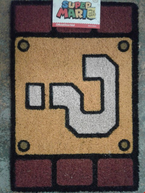 Lot 797 BRAND NEW SUPER MARIO DOOR MAT