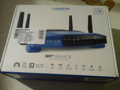 Lot 6 LINKSYS WRT 1900 ACS ROUTER
