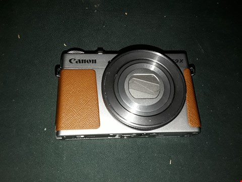Lot 2288 CANON POWERSHOT G9X MK II CAMERA  RRP £589.99