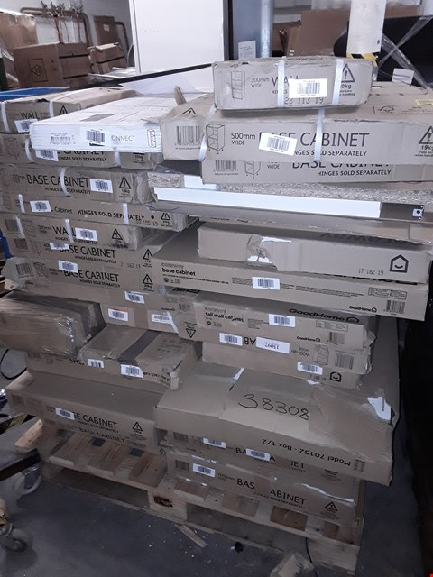 Lot 3222 PALLET OF ASSORTED FLAT PACK KITCHEN ITEMS