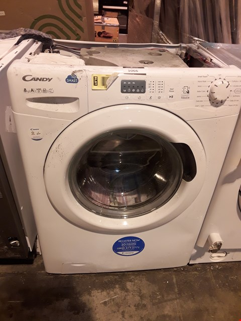 Lot 1066 CANDY WHITE 8kg SMART TOUCH WASHING MACHINE