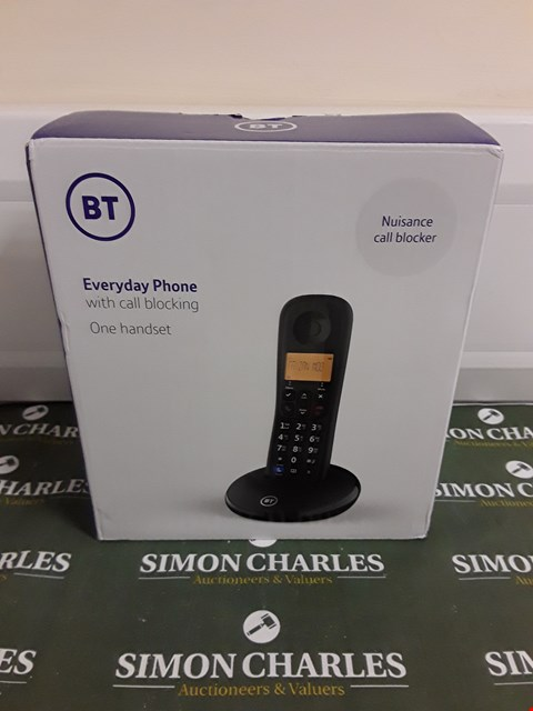 Lot 1290 BT EVERYDAY PHONE WITH BASIC CALL BLOCKING  RRP £24.99