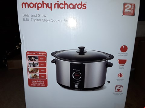 Lot 2510 MORPHY RICHARDS ACCENTS SLOW COOKER
