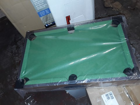 Lot 1398 TABLE TOP POOL TABLE