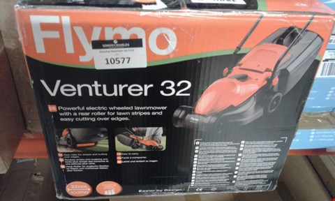 Lot 10577 BRAND NEW BOXED FLYMO VENTURER 32 MOWER  RRP £95.00