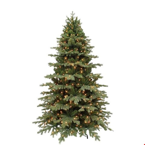 Lot 3508 BOXED 8FT SHERWOOD REAL LOOK CHRISTMAS TREE