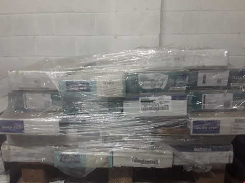 Lot 921 PALLET OF APPROXIMATELY 20 PACKS OF ASSORTED LAMINATE FLOORING
