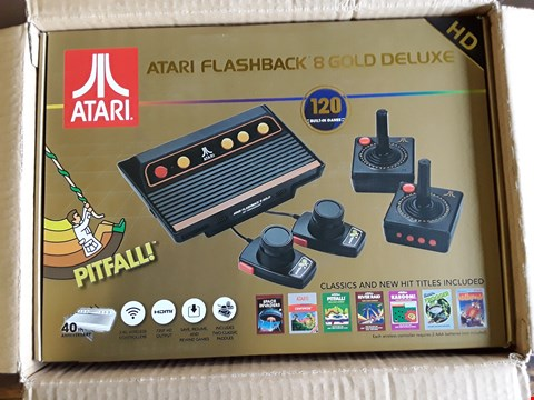 Lot 313 ATARI FLASHBACK 8 GOLD