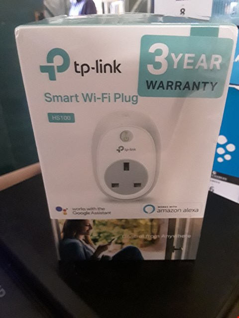 Lot 9 BOXED TP-LINK SMART WIFI PLUG