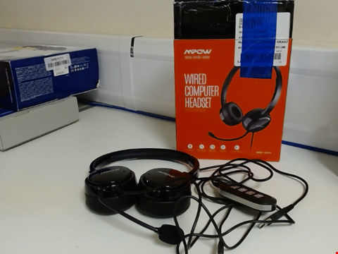 Lot 15303 MPOW WIRED COMPUTER HEADSET
