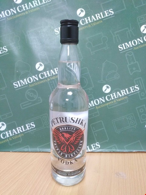 Lot 5044 PETRUSHKA VODKA 70CL 37.5%