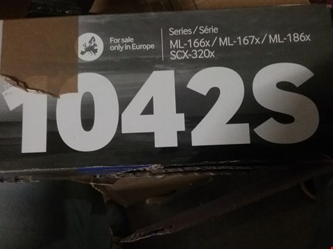 Lot 636 SAMSUNG TONER CARTRIDGE