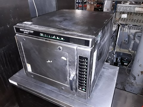 Lot 9072 AMANA MENUMASTER UCA1400 COMMERCIAL MICROWAVE OVEN
