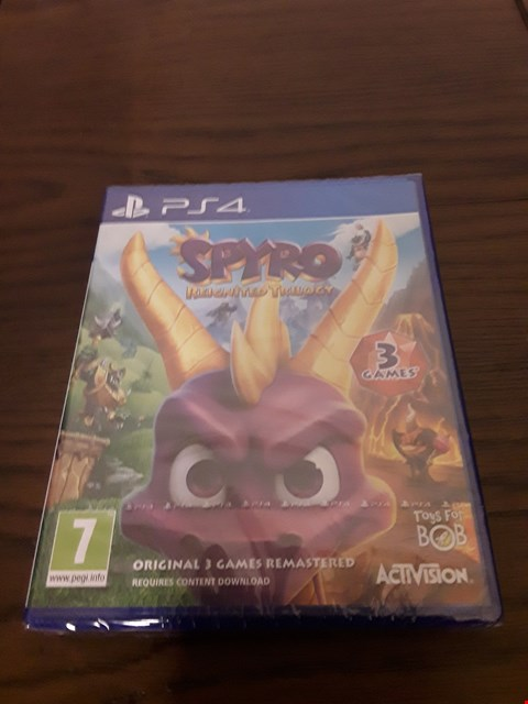 Lot 1005 SPYRO: REIGNITED TRILOGY PLAYSTATION 4 GAME