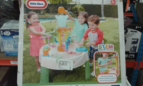 Lot 10646 BOXED LITTLE TIKES FOUNTAIN FACTORY WATER TABLE RRP £81.99