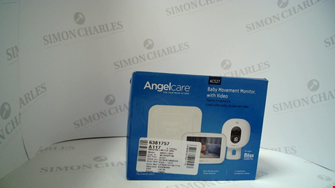 Lot 17204 ANGELCARE AC527 3-IN-1 SENSASURE BABY MOVEMENT MONITOR