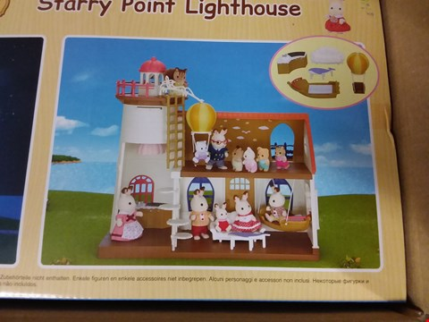 Lot 99 SYLVANIAN FAMILIES STARRY POINT LIGHTHOUSE
