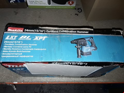 Lot 684 MAKITA 24MM CORDLESS COMBINATION HAMMER DHR242Z