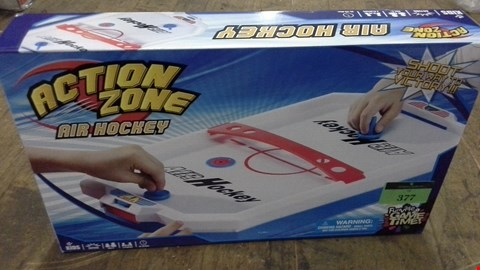 Lot 377 BOXED AIR HOCKEY TABLE RRP £20.00