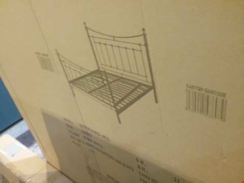 Lot 555 BOXED VICTORIA BED 4FT6 - 1 BOX ONLY