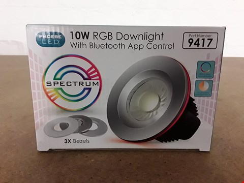 Lot 8024 10W RGB DOWNLIGHT WITH BLUETOOTH APP CONTROL